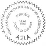 A2LA Corporate Seal